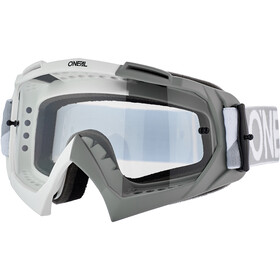 O'Neal B-10 Gogle, twoface-white/gray-clear
